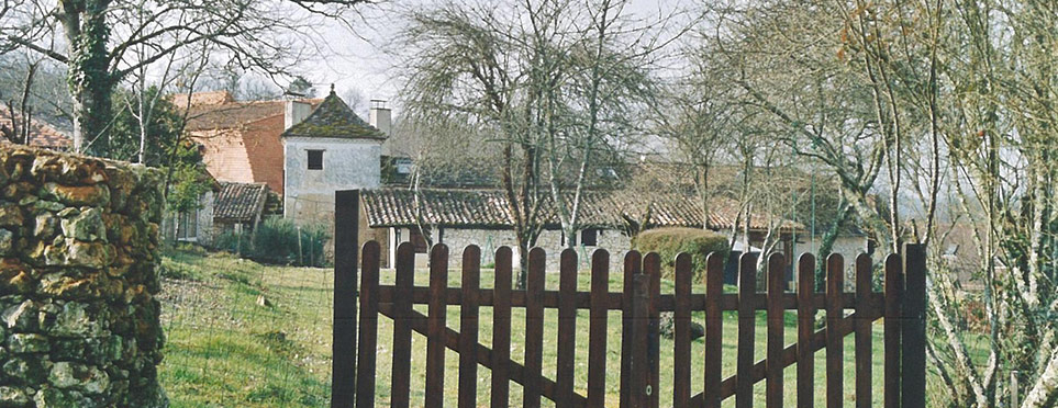 le parc et la maison d'accueil pour les stagiaires