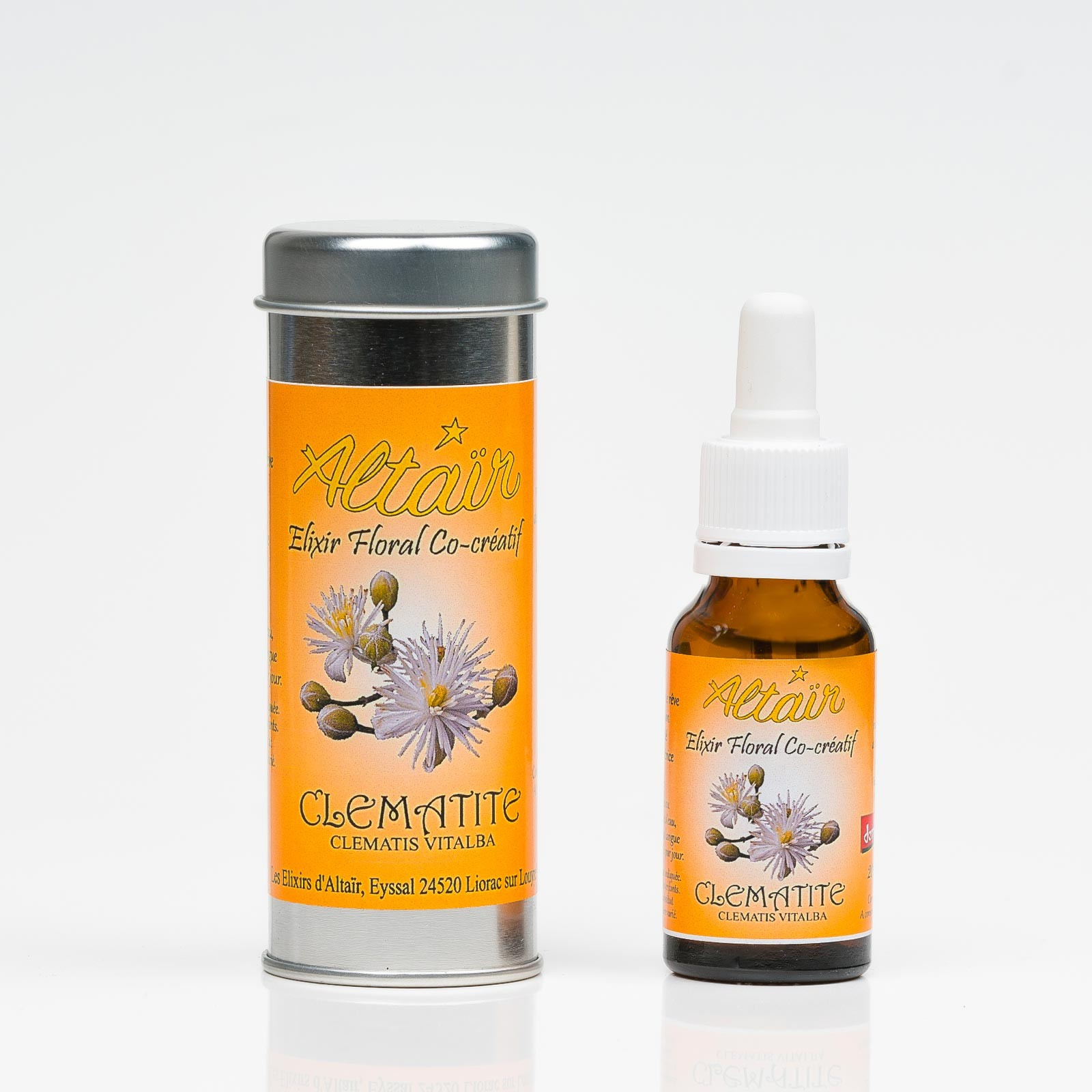 Clématite 312  Elixirs floraux