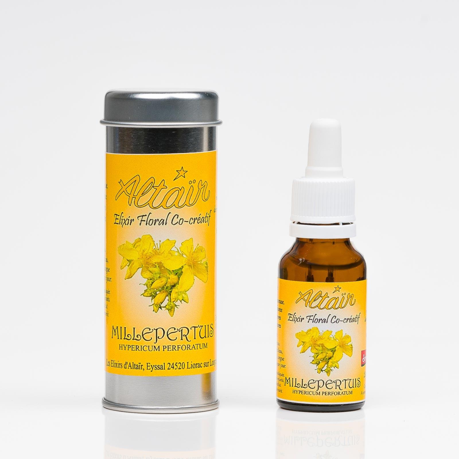 Millepertuis 320  Elixirs floraux