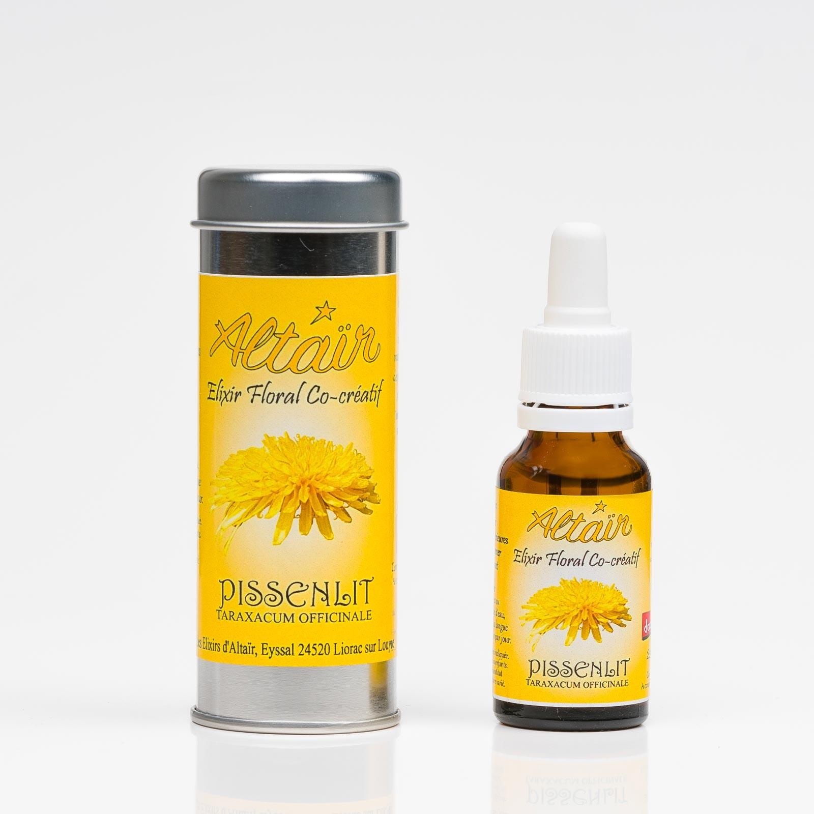 Pissenlit 328  Elixirs floraux