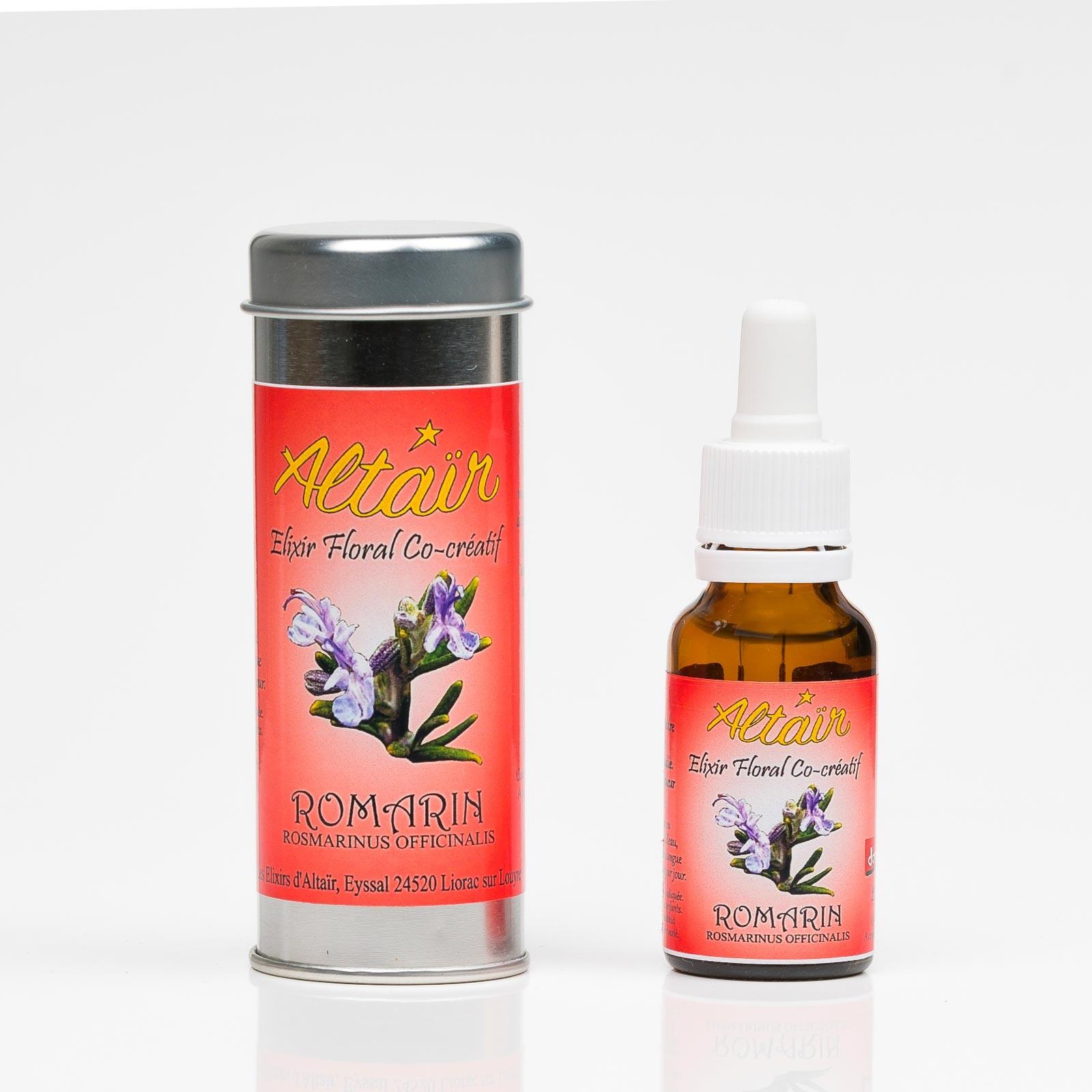Romarin 332  Elixirs floraux